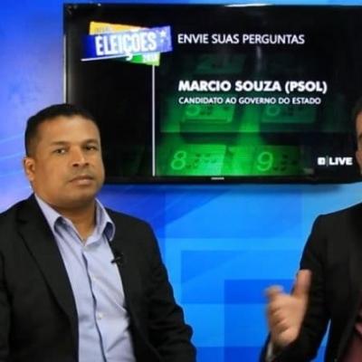 <p>O entrevistado da live da Infonet foi o candidato ao Governo de Sergipe, M&aacute;rcio Souza, do Partido Socialismo e Liberdade (PSOL), direto do est&uacute;dio do Instituto Educar.</p>