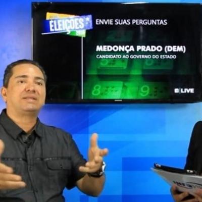 <p>Mendon&ccedil;a Prado (DEM), candidato a governador de Sergipe, foi o oitavo entrevistado da live elei&ccedil;&otilde;es realizada pelo Portal Infonet, direto do est&uacute;dio do Instituto Educar.</p>