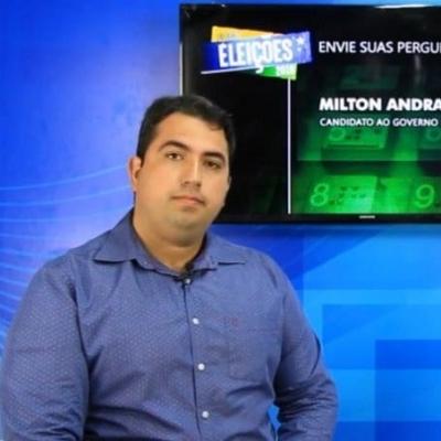 <p>O candidato Milton Andrade (PMN) foi o entrevistado da live de elei&ccedil;&otilde;es do Portal Infonet, direto do est&uacute;dio do Instituto Educar.</p>