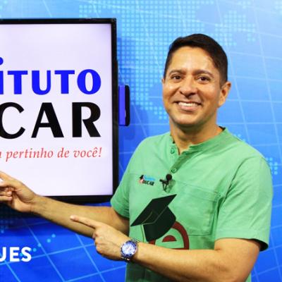 <p>O jornalista e apresentador Ricardo Marques &eacute; o mais novo garoto propaganda do Instituto Educar durante todo o ano de 2019.</p>